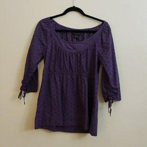 Calvin Klein  purple blouse large